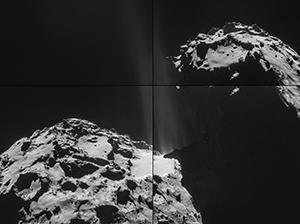 Bild: Credits: ESA/Rosetta/NAVCAM